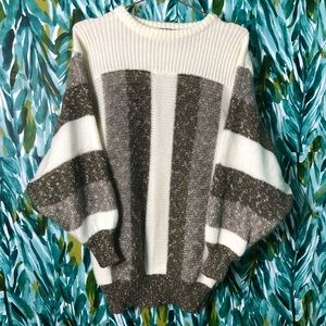 Vintage Mi Ki II Woman's EU40 (M) Striped Sweater